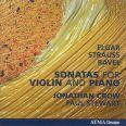 Elgar, Ravel, R Strauss Violin sonatas - Crow, Jonathan