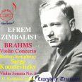 Zimbalist Spielt Brahms - Zimbalist,efrem/boston Symphony Orchestra