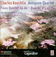 Pianokvintett Op.80  /  Stråkkvartett No.3 Op.72 - Antigone Quartet / Lavaud, Sarah