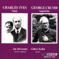 JAN DEGAETANI SINGS CRUMB & IVES - DeGaetani, Jan / Kalish, Gilbert