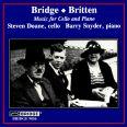 BRITTEN & BRIDGE :CELLO WORKS - Doane, Steve/snyder, B