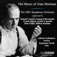 THE MUSIC OF ALAN SHULMAN - Nbc Symphony Orchestra / Antek / Bernstein / Black