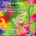 Uirapuru  /  Bachianas Brasileiras 4 - Wagner, Jan / Odense symfoniorkester