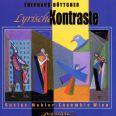 Lyrische Kontraste - Gustav Mahler Ensemble Wien/bottcher