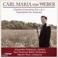 Carl Maria von Weber: Clarinet Concertos  - Fiterstein, Alexander / San Francisco Ballet Orchestra