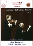 Violinsonater  /  Romanser - Kagan, Oleg / Pisarenko, Galina / Richter, Sviatoslav