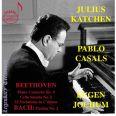 Pianokonsert 4  /  Cellosonat 5  /  32 Variationer  /  Partita 2 - Katchen, Julius / Casals, Pablo / Jochum, Eugen