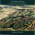 Yo te quiere matare, Wind Bands in 16th century Granada - Ensemble la Dansereye