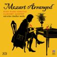 Mozart Arranged. Pianosonater (arr Grieg)  /  Kammarmusik - Adam, Julie / Herscovitch, Daniel / Australia Ensemble