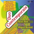 Works for bass clarinet or alto saxphone and percussion - Duo Contemporain