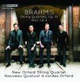 String Quartets Op. 51, Nos. 1 & 2 - New Orford String Quartet