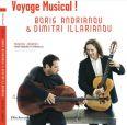 Musical Journey! From Dowland to Piazzolla. Musik för cello och gitarr - Andrianov, Boris / Illarianov, Dimitri