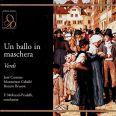 Un Ballo In Maschera - Carreras / Caballe / Bruson