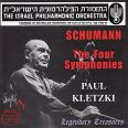 Sämtliche Sinfonien 1-4 (ga) - Kletzki/israel Philharmonic Orchestra