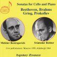 Grieg / beethoven:cello Sonatas - Rostropowitsch/richter