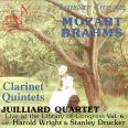 Klarinettkvintetter - Juilliardkvartetten / Wright, Harold / Drucker, Stanley
