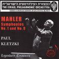 Kletzki Dirigiert Mahler 1+9 - Kletzki,paul/israel Philharmonic Orchestra