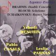 Brahms Double Concert / menuhin - Menuhin,yehudi/parnas/casals Festival Orch.