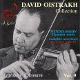 Oistrach Collection Vol.9 - Oistrach,david/oborin,lev