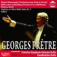 Ravel - Mussorgsky: Pictures at an exhibition  /  Bolero - Pretre, Deutches Symphonie Orchester