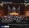 Tragic Overture / Piano Quintet No.1 (arr.Schönberg) - Kölner Rundfunk-sinfonie-orchester