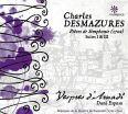 Pièces de Simphonie  /  Suites I & III - Vespres D'Arnadi Ensemble / Espasa, Dani