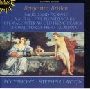 Britten: Sacred and Profane & other choral works