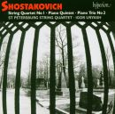 Shostakovich: Quartet No 1, Piano Quintet,