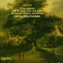 von Weber: Clarinet Quintet, Trio for flute, cell