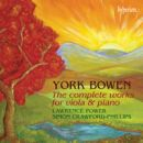 Bowen: The complete works for viola & piano