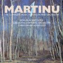 Martinu: The compl. music for violin & orch. Vol.4