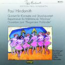 Quintett für Klarinette und Streichquartett / Repertorium für Militärmusik
