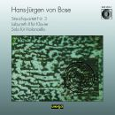 Streichquartett Nr. 3 / Labyrinth II für Klavier / Solo für Violoncello