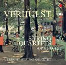Verhulst: String Quartets op. 6 No