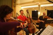 Win a rehearsal with Goeyvaerts String Trio & their upcoming CD!
