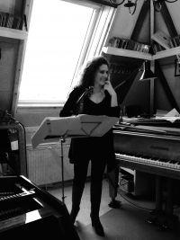 Rehearsing with Liza Ferschtman