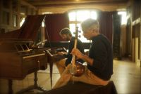 Recording with Kayhan Kalhor