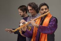 Recording with Bansuri and Tabla.