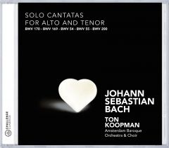 Solo Cantatas for Alto and Tenor