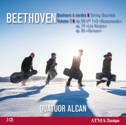 Beethoven: String Quartets Vol 2