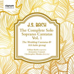 The Solo Soprano Cantatas, Vol. 1 – The Wedding Cantatas and Ich habe genug