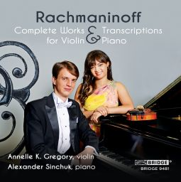 Complete Works and Transcriptions for Violin and Piano