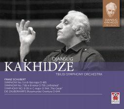 Symphony Nos. 5, 7 & 8 / Die Zauberharfe