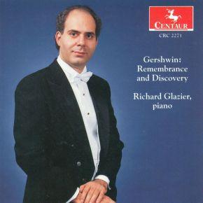 Piano Recital: Glazier, Richard - Wild, E. / Gershwin, G.