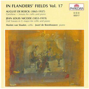 Cantilene & Cello Sonata   IFF 17