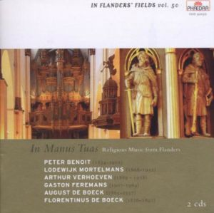 In Manus Tuas, Rel. Music from Flanders   IFF 50