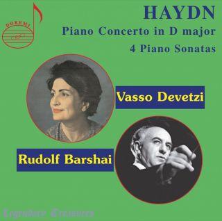 Haydn: Piano Concerto in D Major & 4 Piano Sonatas