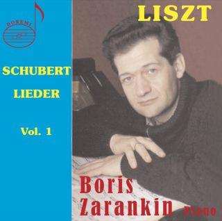 Schubert-Liszt Lieder, Vol. 1