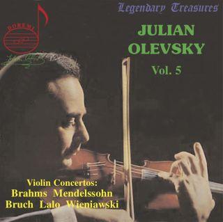 Julian Olevsky, Vol. 5: Violin Concertos