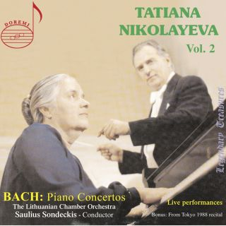Tatiana Nikolayeva, Vol. 2: Bach Concertos (Live)
